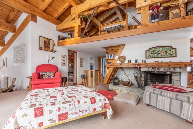 Wohnzimmer Mietobjekt Chalet 136 Les Arcs