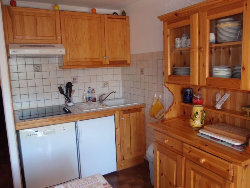 offene Küche Mietobjekt Appartement 1370 Le Grand Bornand