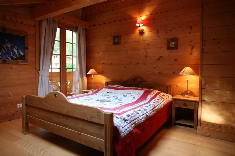 Schlafzimmer 1 Mietobjekt Chalet 1412 Chamonix Mont-Blanc