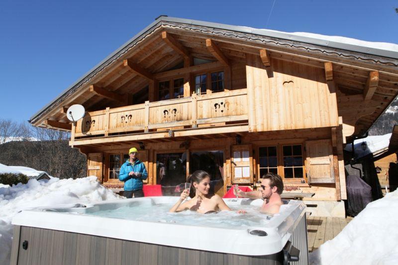 Terrasse Mietobjekt Chalet 1412 Chamonix Mont-Blanc