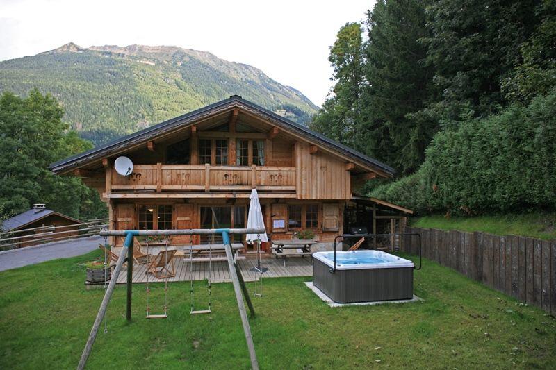 Garten Mietobjekt Chalet 1412 Chamonix Mont-Blanc