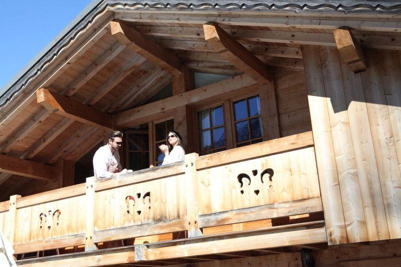 Balkon Mietobjekt Chalet 1412 Chamonix Mont-Blanc
