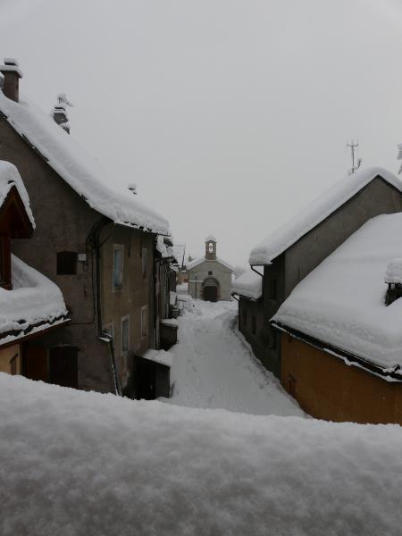 Ausblick aus der Ferienunterkunft Mietobjekt Appartement 14750 Serre Chevalier