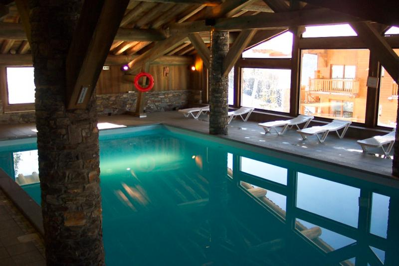 Schwimmbad Mietobjekt Appartement 148 Les Arcs