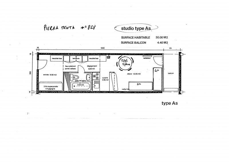 Mietobjekt Studio 155 Les Arcs