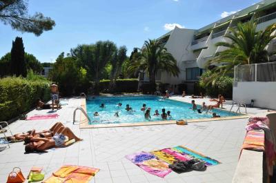 Schwimmbad Mietobjekt Appartement 15822 La Grande Motte