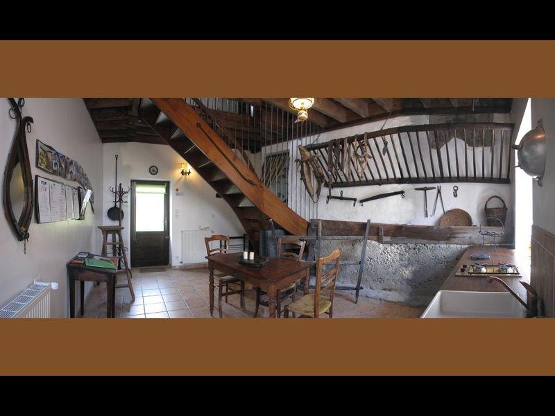 Eingang Mietobjekt Ferienunterkunft auf dem Land 16078 Grenoble
