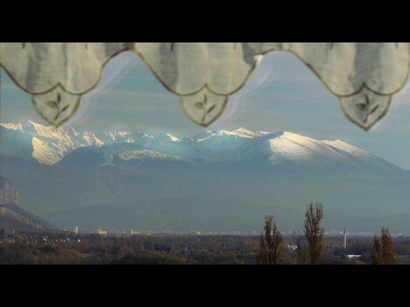 Ausblick aus der Ferienunterkunft Mietobjekt Ferienunterkunft auf dem Land 16078 Grenoble