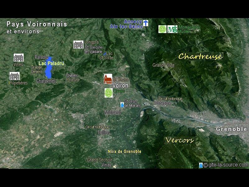 andere Mietobjekt Ferienunterkunft auf dem Land 16078 Grenoble