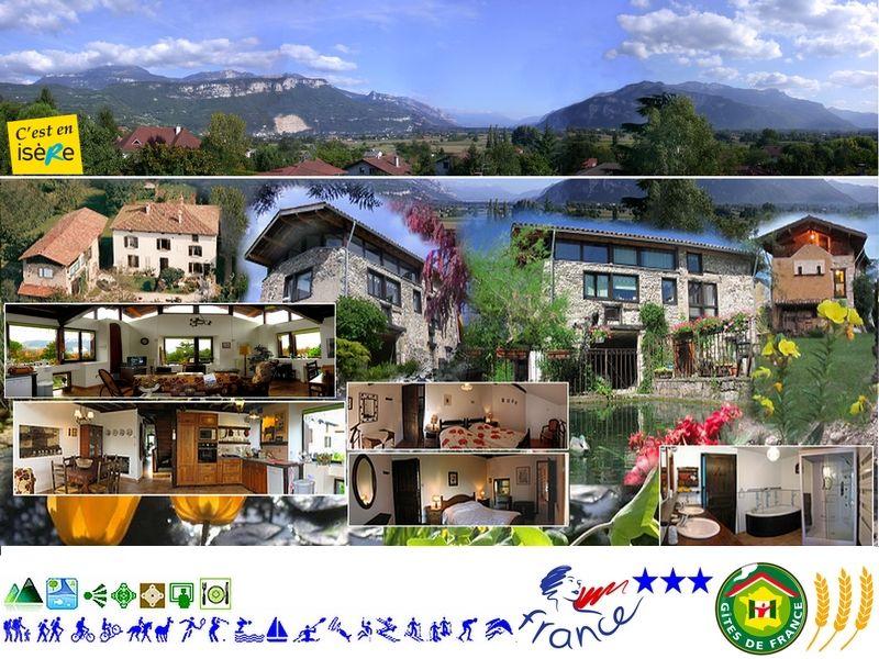 Ansicht des Objektes Mietobjekt Ferienunterkunft auf dem Land 16078 Grenoble