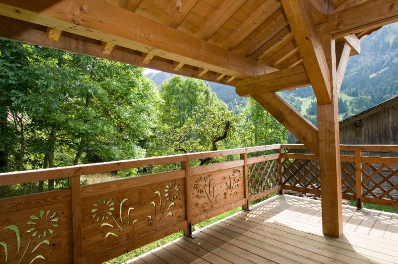 Balkon Mietobjekt Chalet 16141 La Chapelle d'Abondance