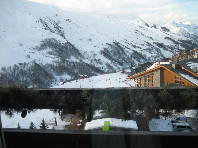 Ausblick vom Balkon Mietobjekt Studio 1628 Les Menuires