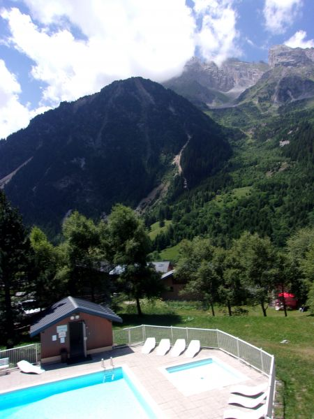 Ausblick vom Balkon Mietobjekt Appartement 18251 Pralognan la Vanoise
