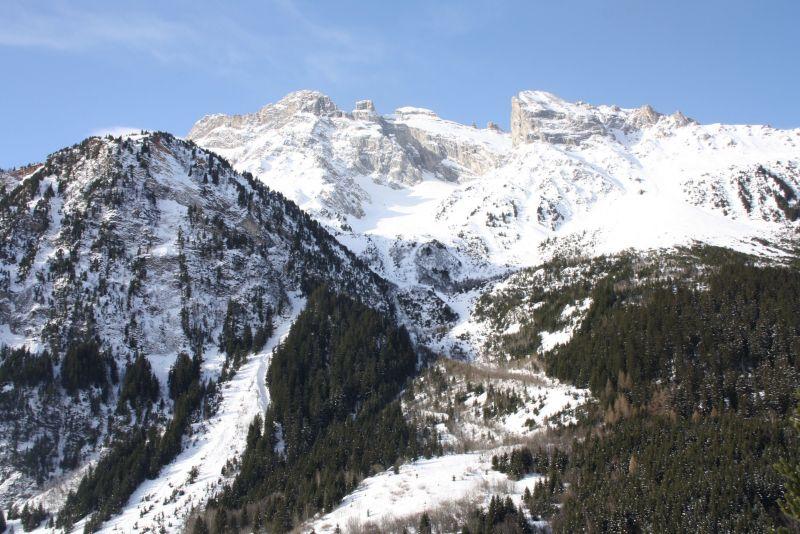 Ausblick von der Terrasse Mietobjekt Appartement 18251 Pralognan la Vanoise