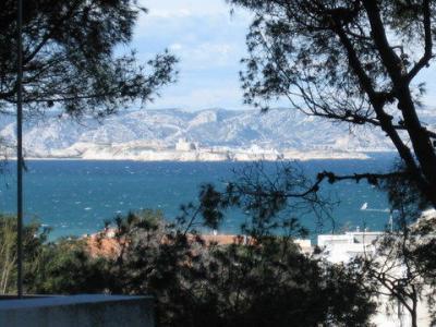 Ausblick von der Terrasse Mietobjekt Appartement 18588 Marseille