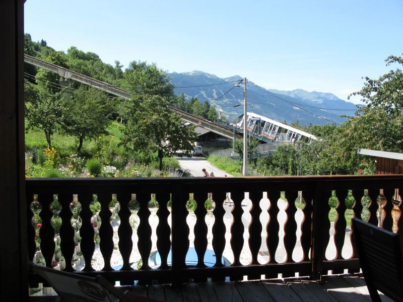 Ausblick vom Balkon Mietobjekt Appartement 191 Les Arcs
