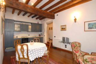 Wohnzimmer Mietobjekt Appartement 21031 Venedig