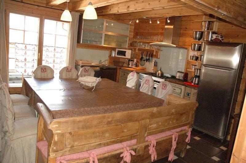 offene Küche Mietobjekt Chalet 2248 La Plagne