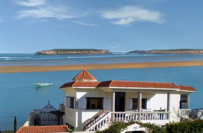 Ausblick aus der Ferienunterkunft Mietobjekt Villa 23490 Oualidia