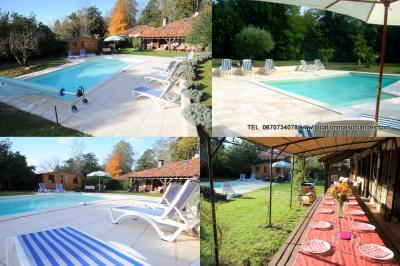 Schwimmbad Mietobjekt Haus 23539 Hossegor