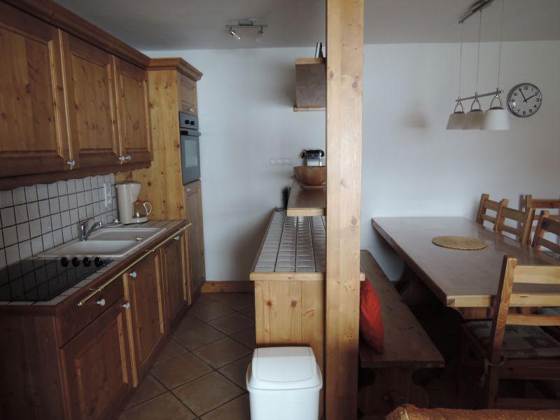 offene Küche Mietobjekt Appartement 236 Les Arcs
