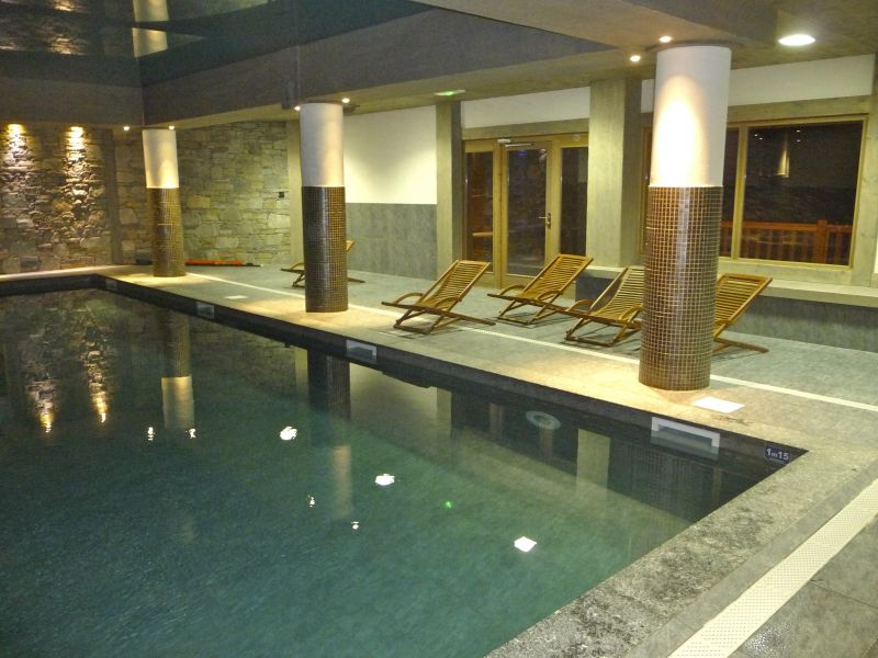 Schwimmbad Mietobjekt Appartement 236 Les Arcs