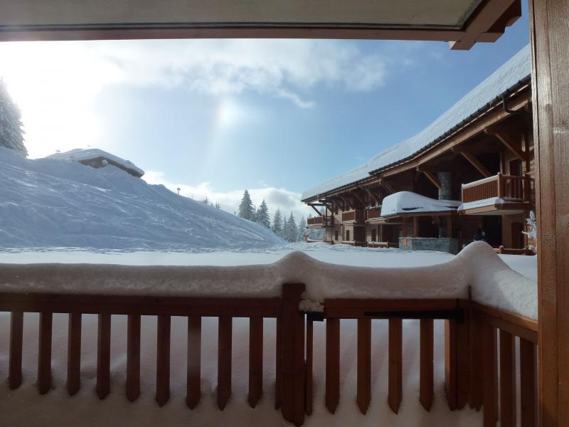 Ausblick aus der Ferienunterkunft Mietobjekt Appartement 236 Les Arcs
