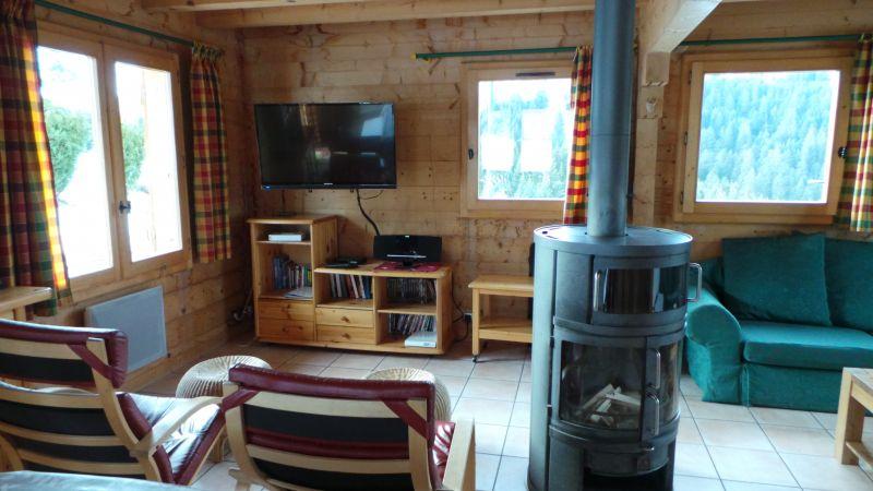 Wohnzimmer Mietobjekt Chalet 2379 Praz de Lys Sommand