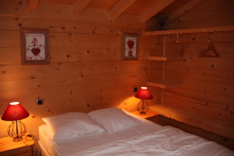 Schlafzimmer 4 Mietobjekt Chalet 2379 Praz de Lys Sommand