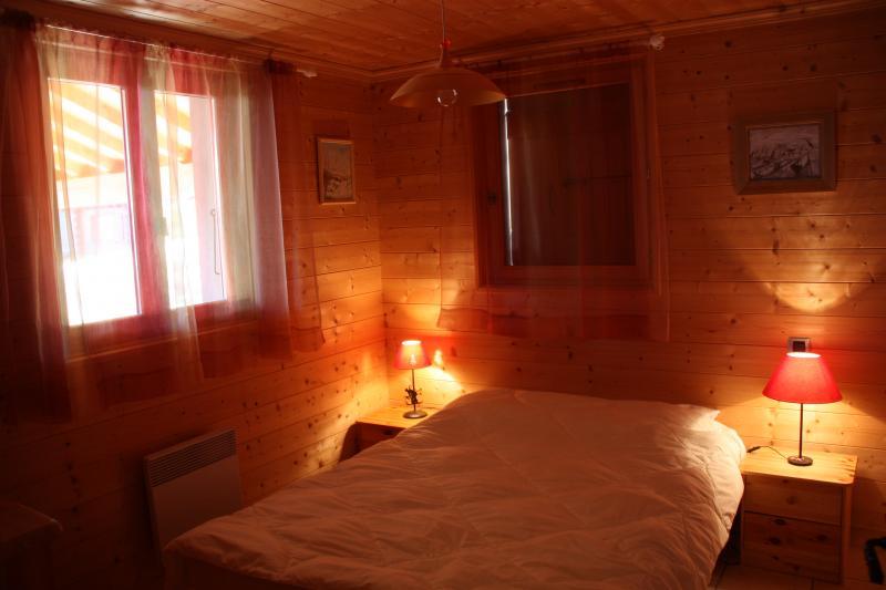 Schlafzimmer 1 Mietobjekt Chalet 2379 Praz de Lys Sommand