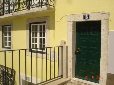 Ausblick von der Terrasse Mietobjekt Studio 23997 Lissabon