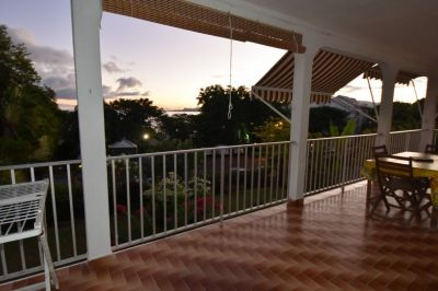 Terrasse Mietobjekt Appartement 25506 Gosier (Guadeloupe)