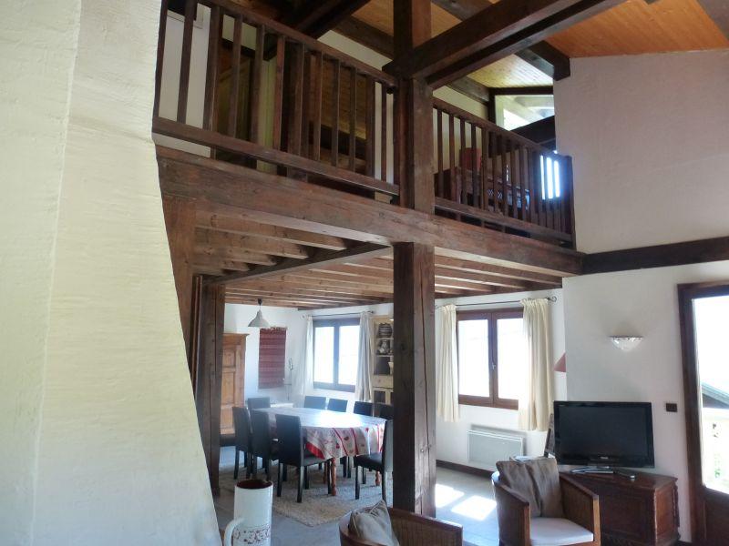 Wohnzimmer Mietobjekt Chalet 2585 Saint Gervais Mont-Blanc