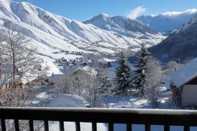 Ausblick aus der Ferienunterkunft Mietobjekt Chalet 2686 Saint Sorlin d'Arves