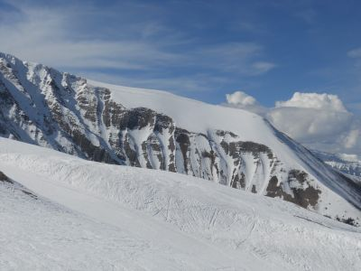 Ausblick vom Balkon Mietobjekt Studio 27605 Alpe du Grand Serre
