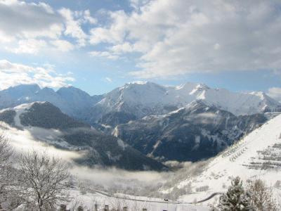Ausblick vom Balkon Mietobjekt Appartement 27866 Alpe d'Huez