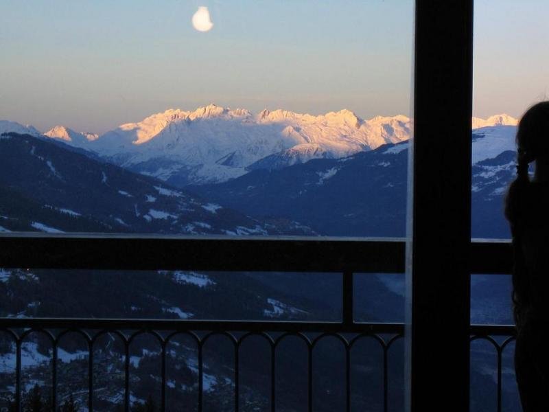 Ausblick vom Balkon Mietobjekt Appartement 28016 Les Arcs