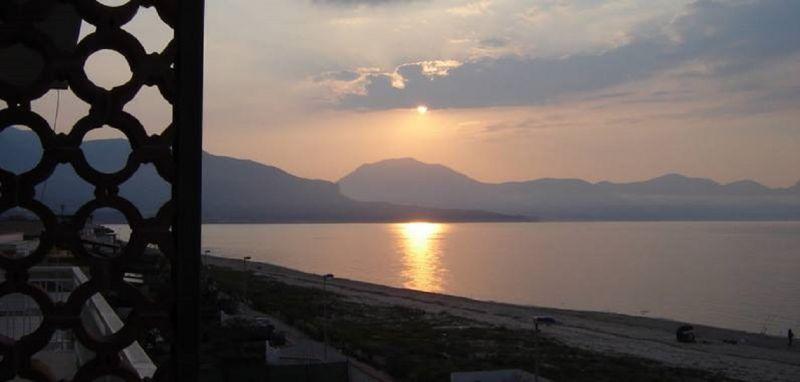 Ausblick von der Terrasse Mietobjekt Appartement 28018 Castellammare del Golfo