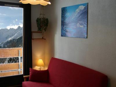 Wohnzimmer Mietobjekt Studio 2807 Les Sept Laux