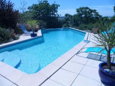 Schwimmbad Mietobjekt Villa 28268 Ruoms