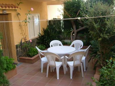 Garten Mietobjekt Appartement 28455 L'Escala