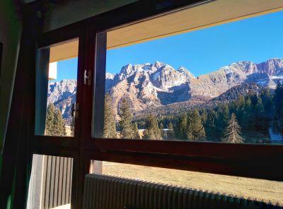 Ausblick aus der Ferienunterkunft Mietobjekt Appartement 28711 Madonna di Campiglio