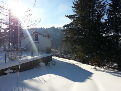 Garten Mietobjekt Appartement 28784 Le Mont Dore