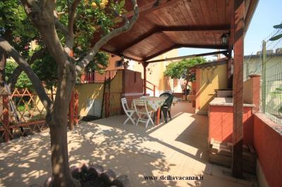 Garten Mietobjekt Villa 30459 Noto