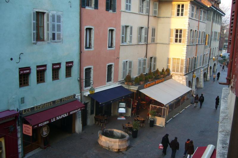 Ausblick aus der Ferienunterkunft Mietobjekt Appartement 30857 Annecy