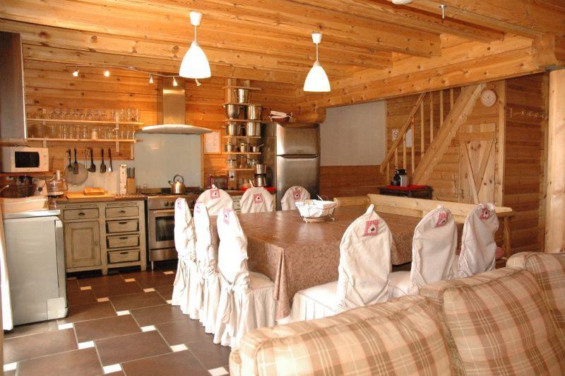 offene Küche Mietobjekt Chalet 31596 La Plagne