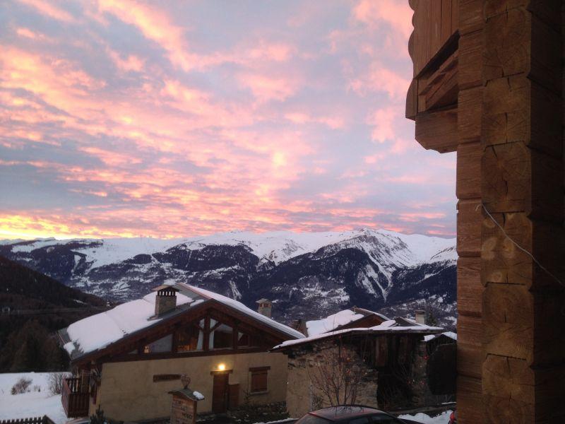 Ausblick aus der Ferienunterkunft Mietobjekt Chalet 31596 La Plagne