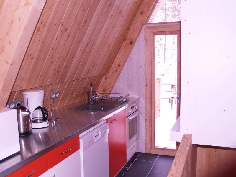 offene Küche Mietobjekt Chalet 320 Les Arcs