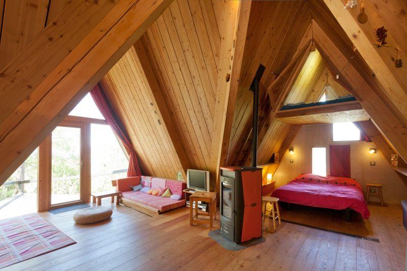Wohnzimmer Mietobjekt Chalet 320 Les Arcs