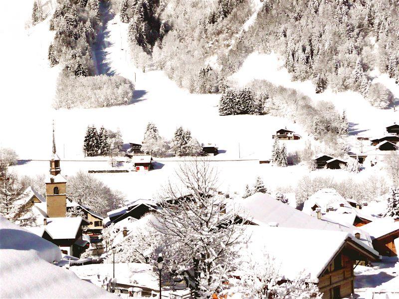 Ausblick aus der Ferienunterkunft Mietobjekt Chalet 32551 Les Contamines Montjoie